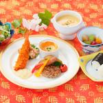 みささガーデンホテル - 料理写真:お子様ランチ 1,000円(税別)