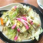 味道園 - 料理写真:今期ラストチャンポンか?