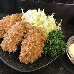 とんかつ富留川 - 料理写真:カキフライ