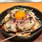 82181233 - 「とろろ芋とトロ〜リ卵のお好み焼き」(通常価格1200円)。