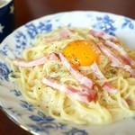 カフェ エレファント - カルボナーラ ¥790