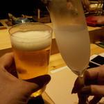 鮨 Shizuku - 乾杯♪