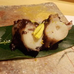 鮨 Shizuku - 雫コース18000円❷明石の蛸桜煮