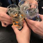 麦酒庵 - 水で乾杯しましょう
