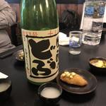 麦酒庵 - 牡蠣フライと酒瓶