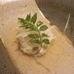 鮨 Shizuku - 雫コース18000円❿鮟鱇の煮付け