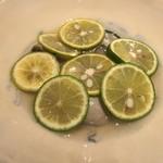 鮨 Shizuku - 雫コース18000円⓳仙鳳趾産牡蠣と酢橘汁