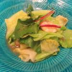 接方来 - 海老と春キャベツの温サラダ