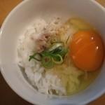 82185030 - 奥久慈卵の玉子かけご飯¥10