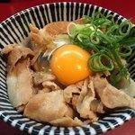 麺一盃 - 豚めし生玉子