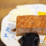 PUBLIC KITCHEN cafe - いちごとホワイトチョコのベイクドチーズケーキ