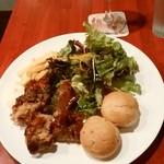 トーキョー ビア パラダイス バイ プリムス - 本日は鶏唐揚げ南蛮ソース