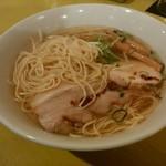 中華そば Ryo - 「ニボ塩鶏そば」メンマトッピング