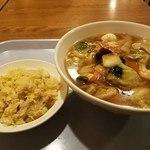 香福園 - 麺セット(五目タンメン)