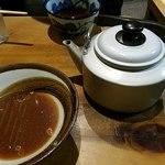 角萬 - 蕎麦湯