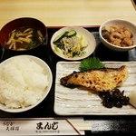 まんじ - あこう鯛の酒粕漬け定食