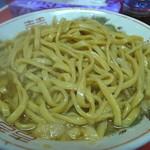 ラーメン 麺徳 - 大で茹で前麺量300gってところ