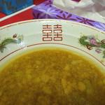 ラーメン 麺徳 - 油層積層の甘口醤二郎