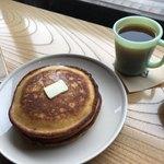 カフェ ヒラナガ - ホットケーキ2枚