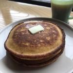 カフェ ヒラナガ - ホットケーキ