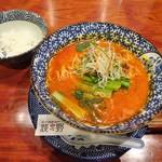 82193724 - ランチ:担々麺、小ライス