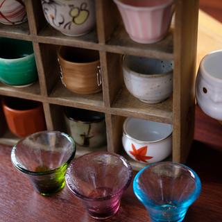 日本酒の少量提供