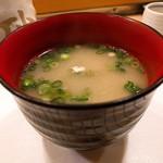 高砂寿司 - お椀