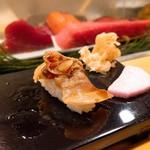 高砂寿司 - ハマグリは詰めで。甘すぎず良い塩梅。
