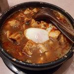 源来酒家 - 麻婆カレー麺(1000円)