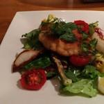 和献洋菜Hi-Bi - 鱈の白子のカツレツ