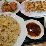 大阪王将 - 餃子炒飯セット
