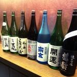 あき山 - 厳選の日本酒