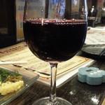 ごえもん - グラスワインの赤430円
