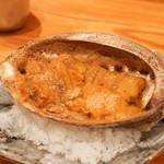 東京肉しゃぶ家 - ウニ焼き