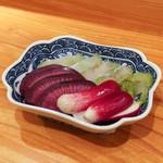東京肉しゃぶ家 - おしんこ