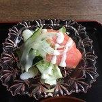 うい庵 - ランチ サラダ