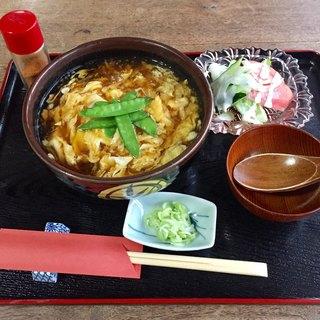 うい庵 - 料理写真:かき玉うどん