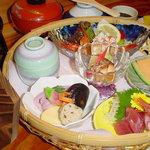 和食 かなざわ - 料理写真:花かご膳、1480~