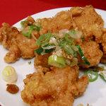 中国料理 鳥竜 - 若鶏の唐揚げ