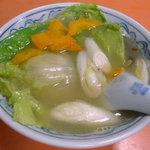 翠園 - 野菜スープ