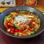 担担麺や 天秤 - 酸辣湯麺