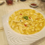 香府山 - 上海カニミソと豆腐の煮込み