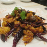 香府山 - 鶏ナンコツの唐辛子炒め