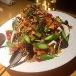 82202599 - treeリーフサラダ(フルサイズ)                       自家製野菜ドレッシング