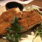 個室 肉割烹 KATANA - 手仕込み若鶏のカツレツ