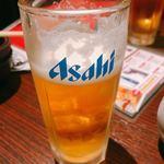 居酒屋 NIJYU-MARU - クリアアサヒ(飲み放題)