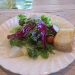 アルカレート - ランチ パスタセットのサラダ