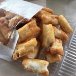 神田明神売店 - 明神勝餅のうに。 美味し。