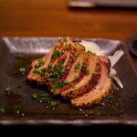 和ビストロ [i:z] 梅酒 × modern living - 合鴨スモークの炙りおろしポン酢