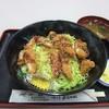 満留賀 - 料理写真:ソースかつ丼